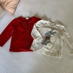 Christmas gap sweater set